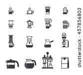 set of vector coffee elements...