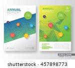 multipurpose corporate business ... | Shutterstock .eps vector #457898773