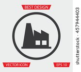 factory icon   vector...