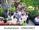 portrait of the groom... | Shutterstock . vector #458024827