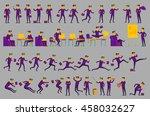 business solution. business... | Shutterstock . vector #458032627