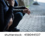 substance abuse  addiction ... | Shutterstock . vector #458044537