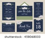 Set Of Wedding Suite Template...