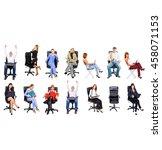 people diversity office culture  | Shutterstock . vector #458071153