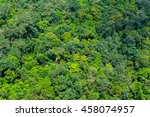 tropical jungle aerial shot 26 | Shutterstock . vector #458074957