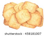 Crispy Crackers With Spices...