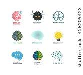 brain  creation  invention ... | Shutterstock . vector #458209423