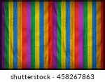 rainbows color on synthetic... | Shutterstock . vector #458267863
