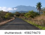 Country Road In Western Panama...