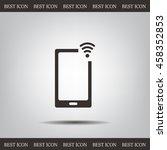 wireless connectivity concept.... | Shutterstock .eps vector #458352853