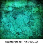 Abstract Turquoise Grunge...