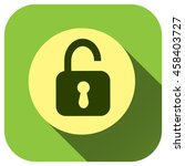 padlock icon vector logo for...