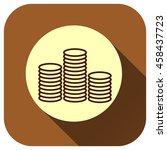 coin vector icon  money symbol...
