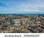 high dynamic range hdr aerial... | Shutterstock . vector #458448187