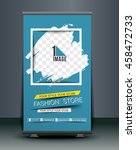 roll up banner stand design ...