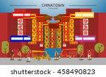 chinatown in thailand bangkok...