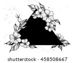 hand drawn vector illustration  ... | Shutterstock .eps vector #458508667