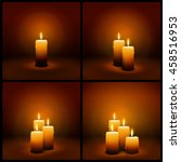 3d vector christmas and advent... | Shutterstock .eps vector #458516953