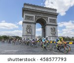 paris jul 24  the feminine... | Shutterstock . vector #458577793