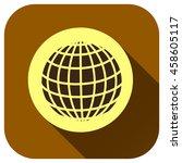 globe icon  vector logo for...