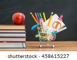 apple lunch will help you... | Shutterstock . vector #458615227