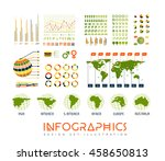 infographics vector set... | Shutterstock .eps vector #458650813