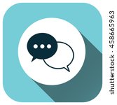 chat vector icon  speech bubble ...