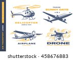 Air Transport Logo Illustratio...