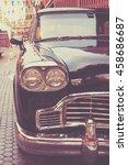 vintage classic car   vintage... | Shutterstock . vector #458686687
