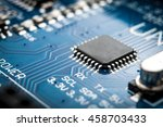 integrated semiconductor... | Shutterstock . vector #458703433