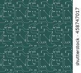 seamless pattern. computer... | Shutterstock .eps vector #458747017