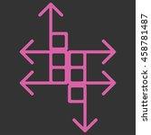 new trendy illustration arrows...