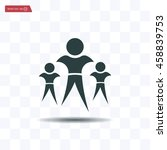 pictograph of success team   Shutterstock .eps vector #458839753
