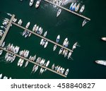Top View Of Boats In Procida ...
