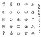 vector business icons  forum...