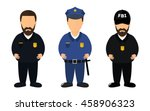 policeman  patrol sheriff and... | Shutterstock .eps vector #458906323