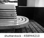 vintage wooden bench   Shutterstock . vector #458944213