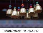 bronze bell in a temple | Shutterstock . vector #458966647