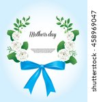 happy mother's day card thai... | Shutterstock .eps vector #458969047