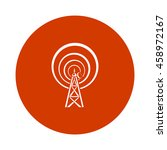 radio tower  icon | Shutterstock .eps vector #458972167