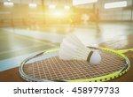 A Set Of Badminton Concept...