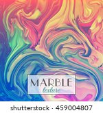 Marble texture. Vector abstract colorful background. Vector illustration, eps10.   Shutterstock vector #459004807