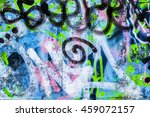 Fragment Of A Wall With...