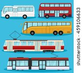 city transport vector flat... | Shutterstock .eps vector #459106633