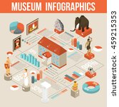cultural history museum... | Shutterstock .eps vector #459215353