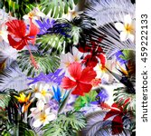 Tropical Floral Pattern. Exoti...