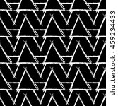 seamless pattern with hand... | Shutterstock .eps vector #459234433