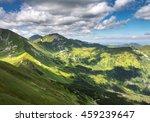 valleys  ridges and peaks of... | Shutterstock . vector #459239647