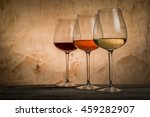 Selection Of Wine For Tasting