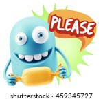 3d rendering. candy gift... | Shutterstock . vector #459345727